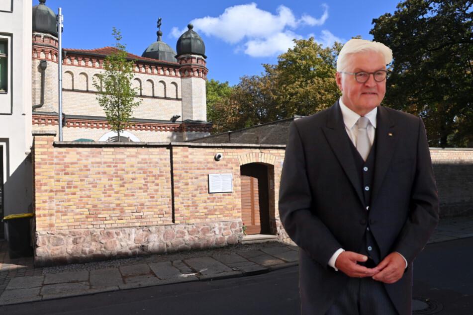 Gedenken an Terroranschlag: Frank-Walter Steinmeier kommt nach Halle
