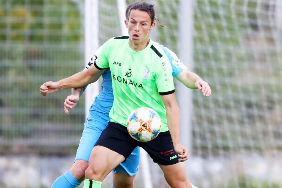 Gian Luca Schulz (21, vorne) wechselt vom FSV Union Fürstenwalde zum FC Hansa Rostock.