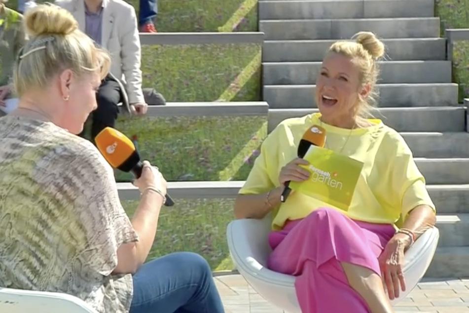 Irrer ZDF-Fernsehgarten! Kiwi macht sich mit Dating-Interview lächerlich