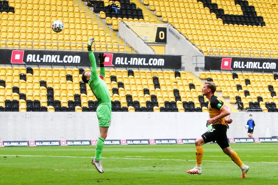 Mit seinem Lupfer zum 1:0 brach Christoph Daferner (23, r.) im entscheidenden Spiel gegen Türkgücü München den Bann.