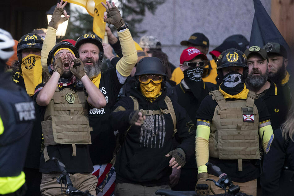 Two Proud Boys members indicted in connection with Capitol storming