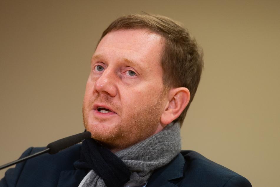 Bekam einen offenen Brief von der Handwerkskammer (HWK) Chemnitz: Ministerpräsident Michael Kretschmer (45, CDU).