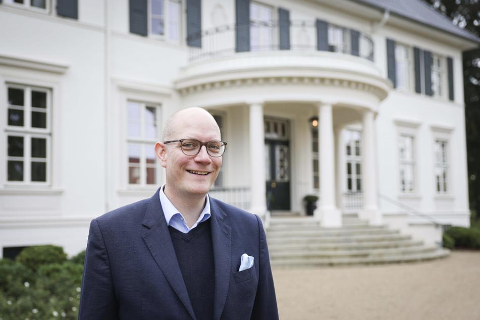 """Thilo Mühl ist der Hoteldirektor des """"Gut Immenhof""""."""