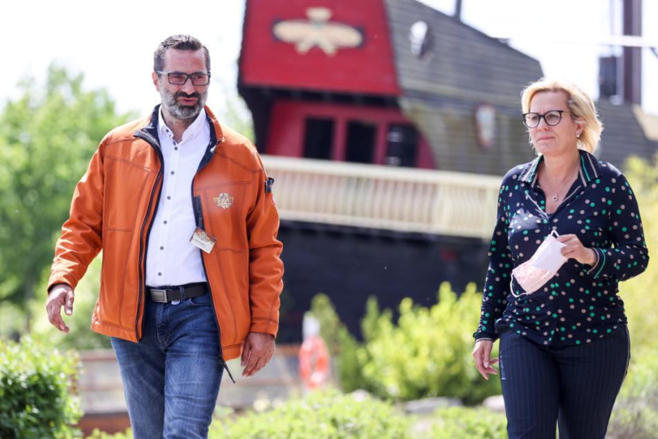 Coronavirus in Dresden: Ministerin lobt Freizeitparks für Umsetzung der Hygiene-Maßnahmen