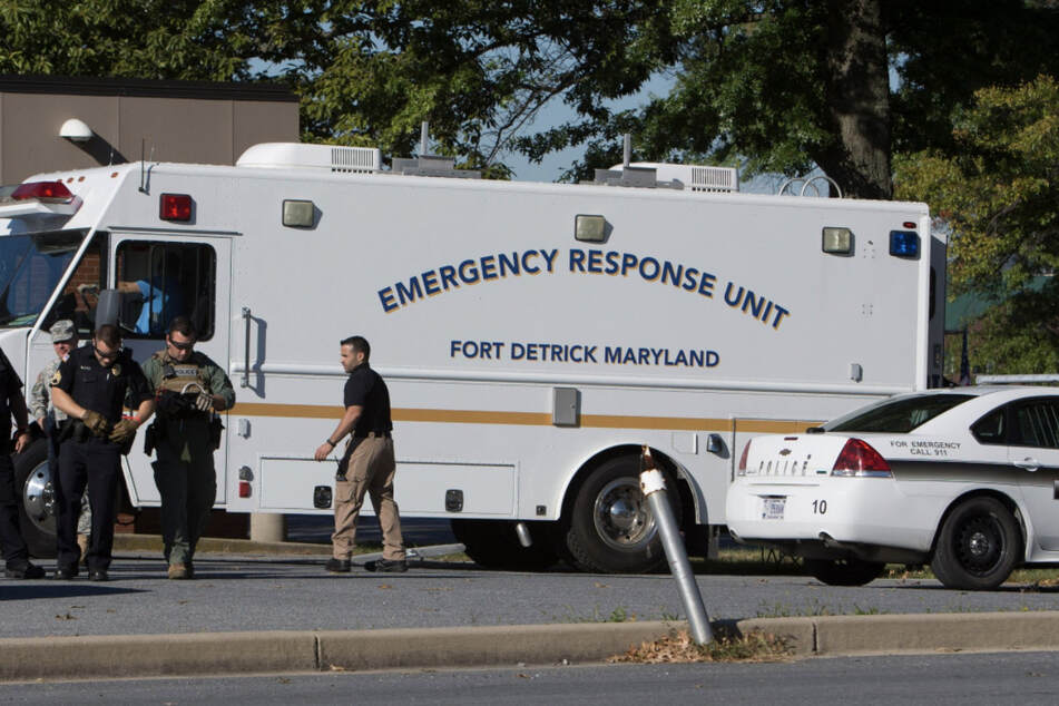Navy medic goes on shooting spree at Maryland Army base and injures two sailors