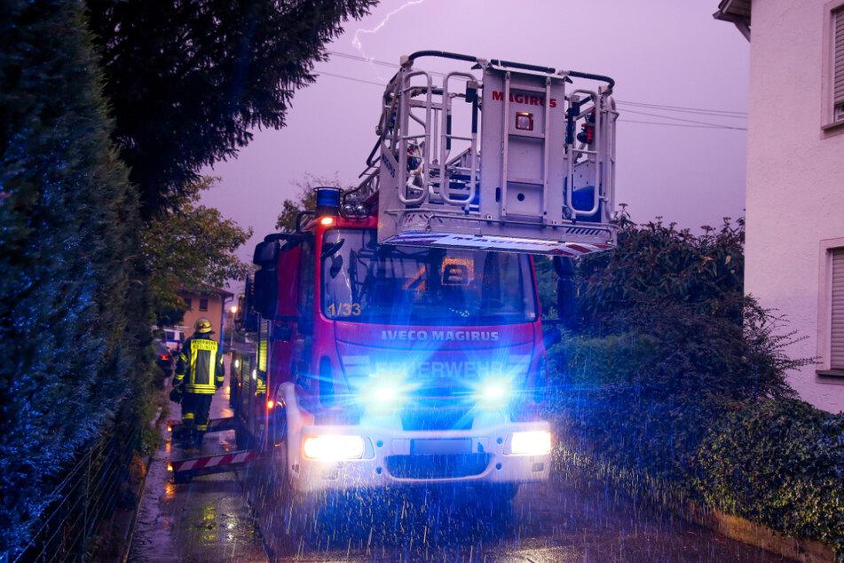 In Wangen im Allgäu hatte die Feuerwehr am Donnerstag alle Hände voll zu tun. (Symbolbild)