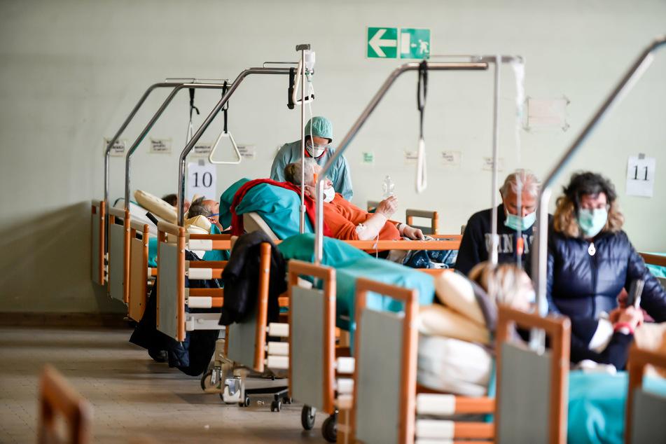 So schaut es in italienischen Krankenhäusern aktuell aus.