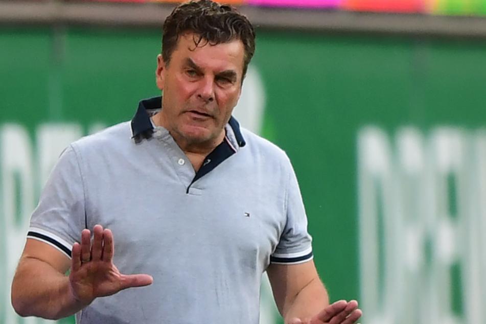 Trainer Dieter Hecking (55) muss auf mehrere Spieler verzichten.