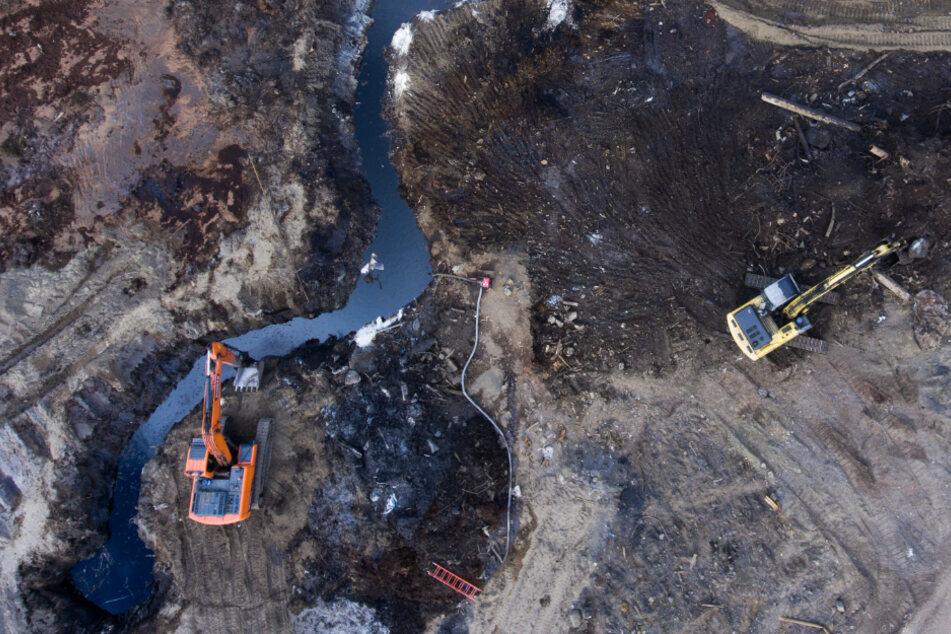 Umwelt-Katastrophe in der Arktis: Schon wieder Unmengen an Kraftstoff ausgelaufen