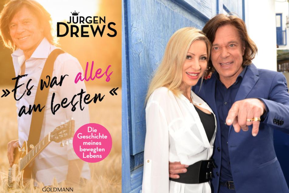 Jürgen Drews (75) hat seine Biografie veröffentlicht, rechts mit Ehefrau Ramona (46, Archivbild).