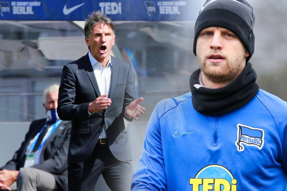 Arne Maier sitzt unter Bruno Labbadia derzeit nur auf der Bank.