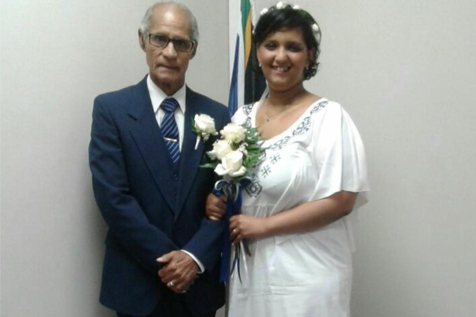 2018 heirateten Terzel (29) und Wilson Rasmus (80) nach zwei Jahren Beziehung.