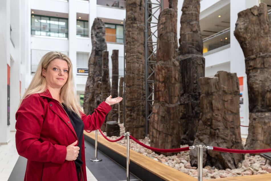 OB-Kandidatin Susanne Schaper (42, Linke) möchte Kita-Erzieherinnen Gutscheine zukommen lassen, beispielsweise fürs Naturkundemuseum.