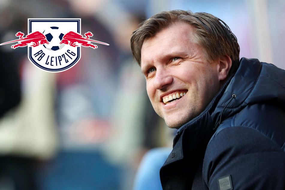 """RB Leipzigs Sportdirektor sicher wie nie: """"Werden Champions League erreichen!"""""""