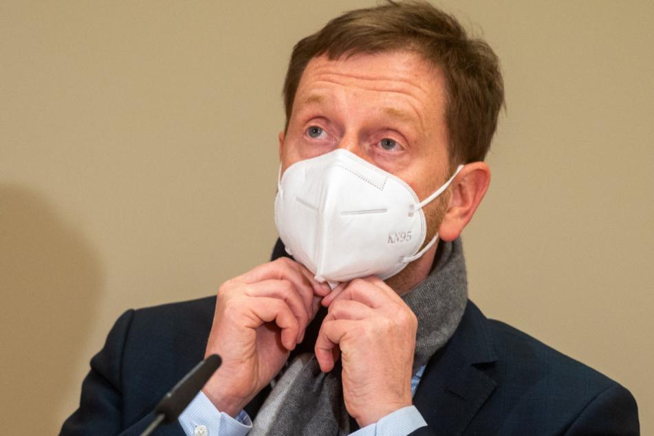 Auch dagegen: Sachsens Ministerpräsident Michael Kretschmer (45, CDU).
