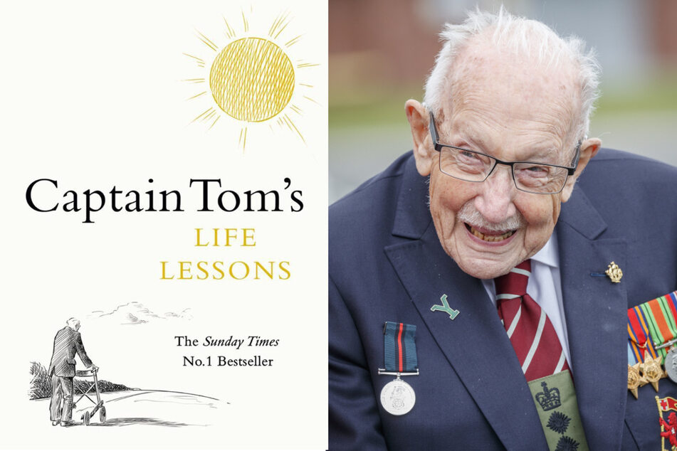Lebenslektionen eines 100-Jährigen: Buch von Corona-Held Captain Tom