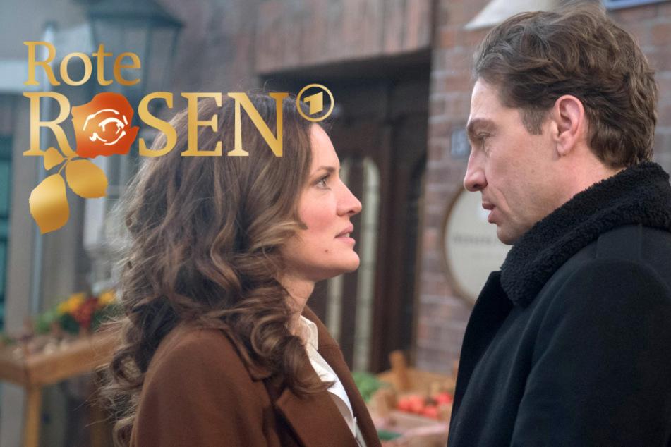 """""""Rote Rosen"""": Tatjana und Paul geben ihrer Liebe endlich eine Chance."""