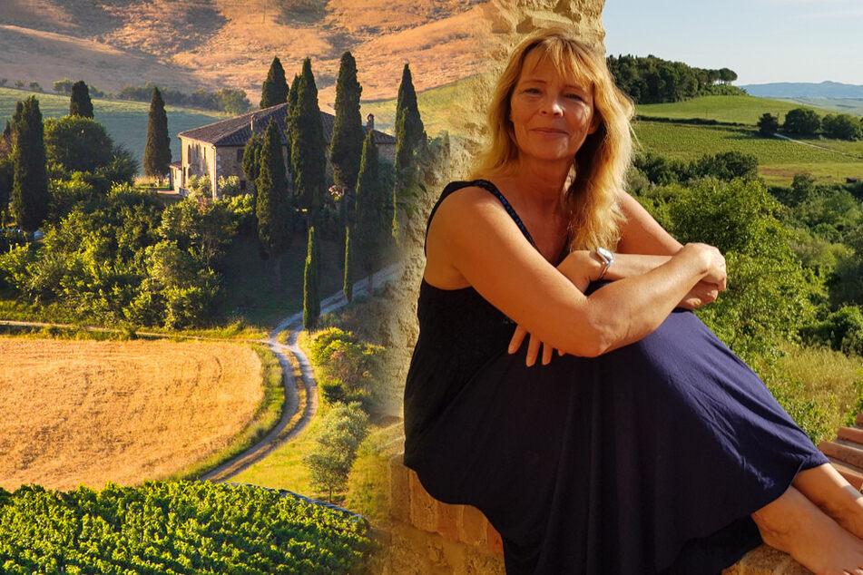 Kristina Schmidt (54) genießt das Leben in einer der schönsten Kulturlandschaften Europas. Ihr Heimweh hält sich daher in Grenzen.