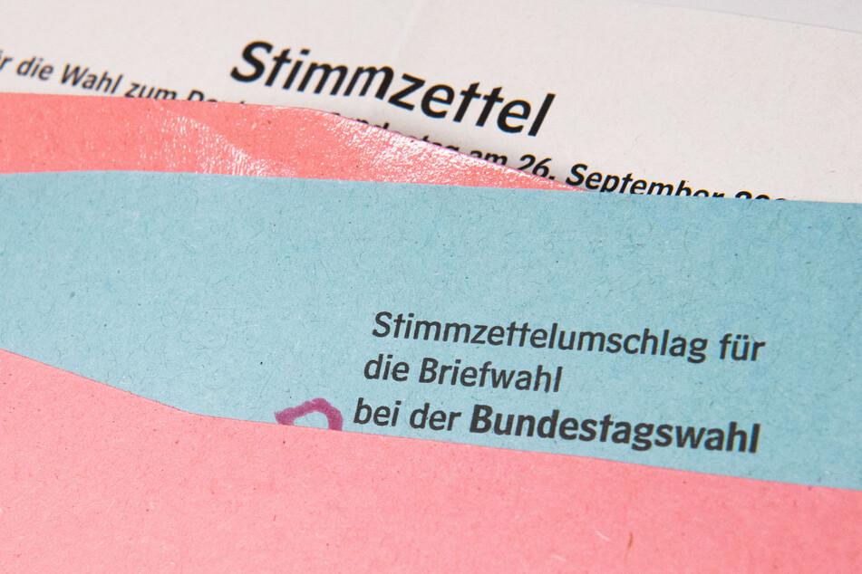 In Dresden haben sich viele für die Briefwahl entschieden.