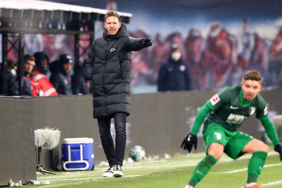 RB-Trainer Julian Nagelsmann (33) und sein Team wollen in den kommenden Spielen wieder Vollgas geben.