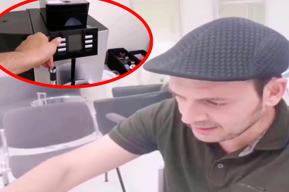 Kaya Yanar verzweifelt: Wo geht nur die sch*** Kaffee-Maschine an?!