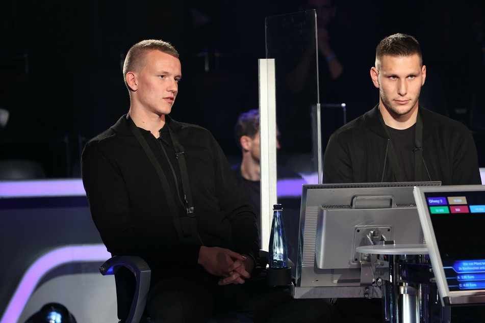 Lukas Klostermann (24) und Niklas Süle (25) waren beim TV-Quiz am erfolgreichsten.