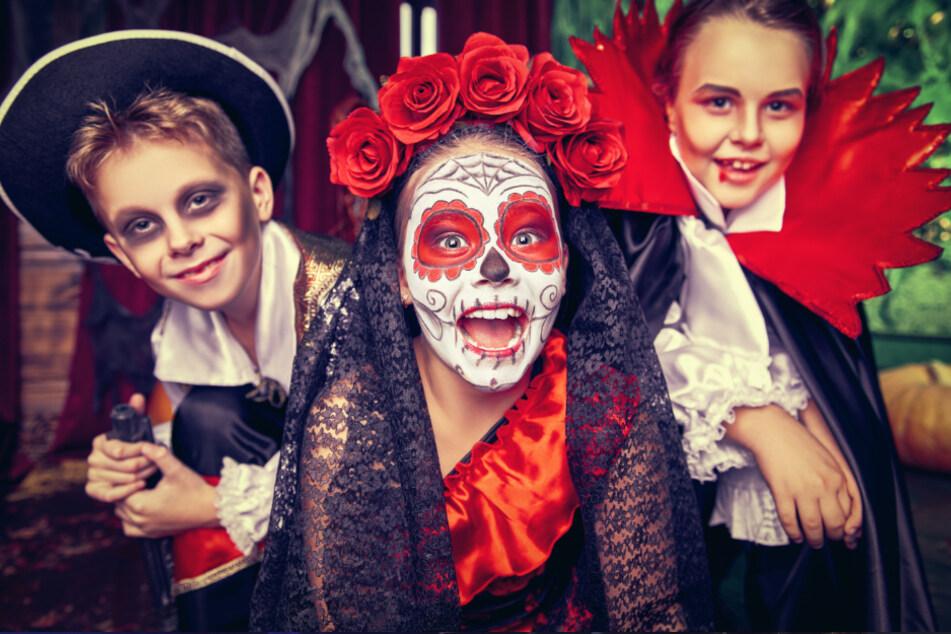 An Halloween haben Kinder ihre Freude (Symbolbild).