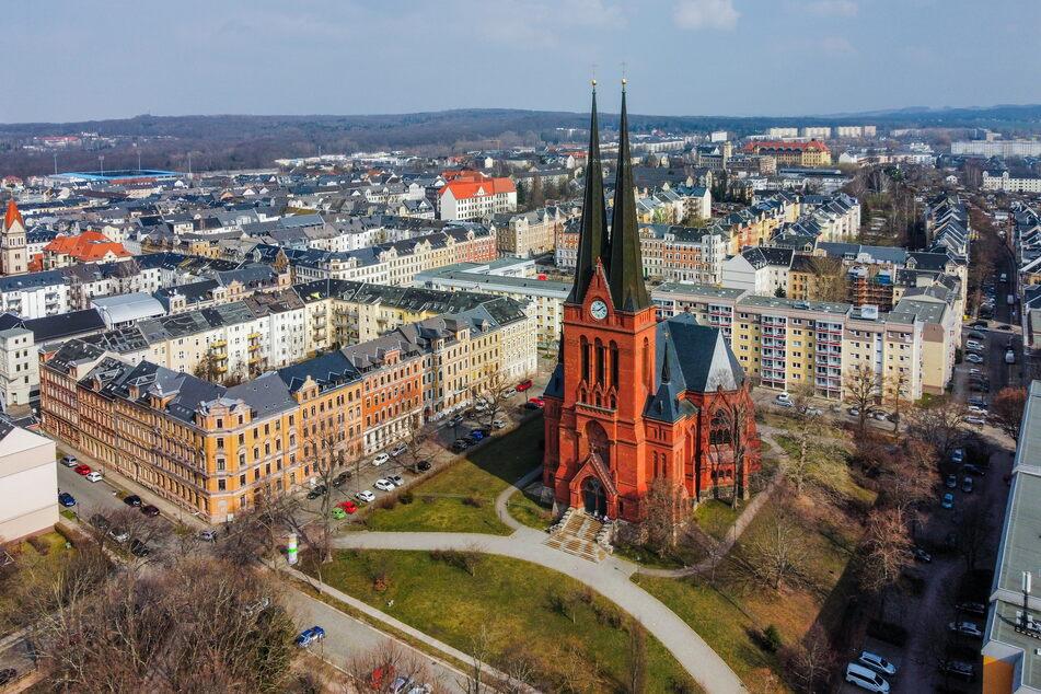 Die Markuskirche auf dem Sonnenberg lädt zu Oster-Gottesdiensten ein - wie auch viele andere Chemnitzer Kirchen.
