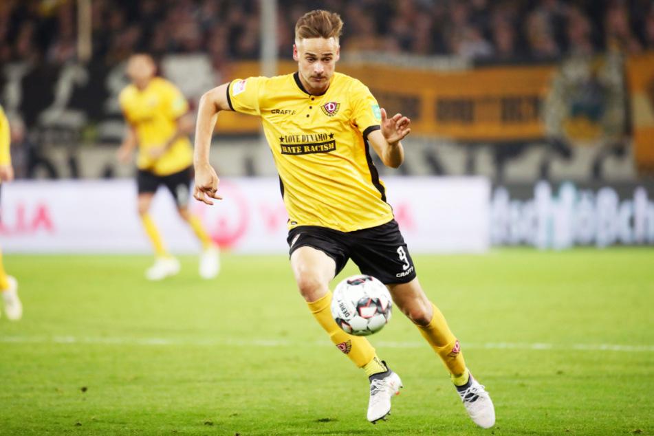Ex-Dynamo-Stürmer Lucas Röser (27) ist bei Türkgücü München im Gespräch.