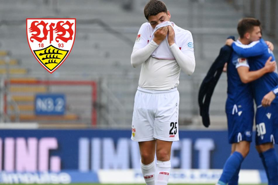 VfB-Fans vernichten Mannschaft nach Derby-Pleite gegen den KSC
