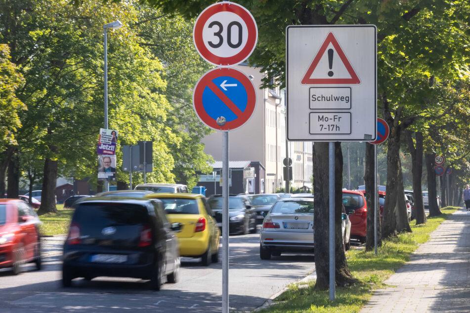 An der Rudolf-Krahl-Straße Ecke Berganger gilt jetzt Tempo 30.