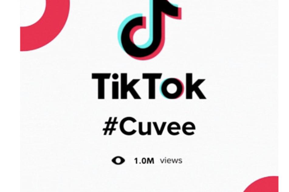 Cuvée Coffee has surpassed one million views on TikTok.
