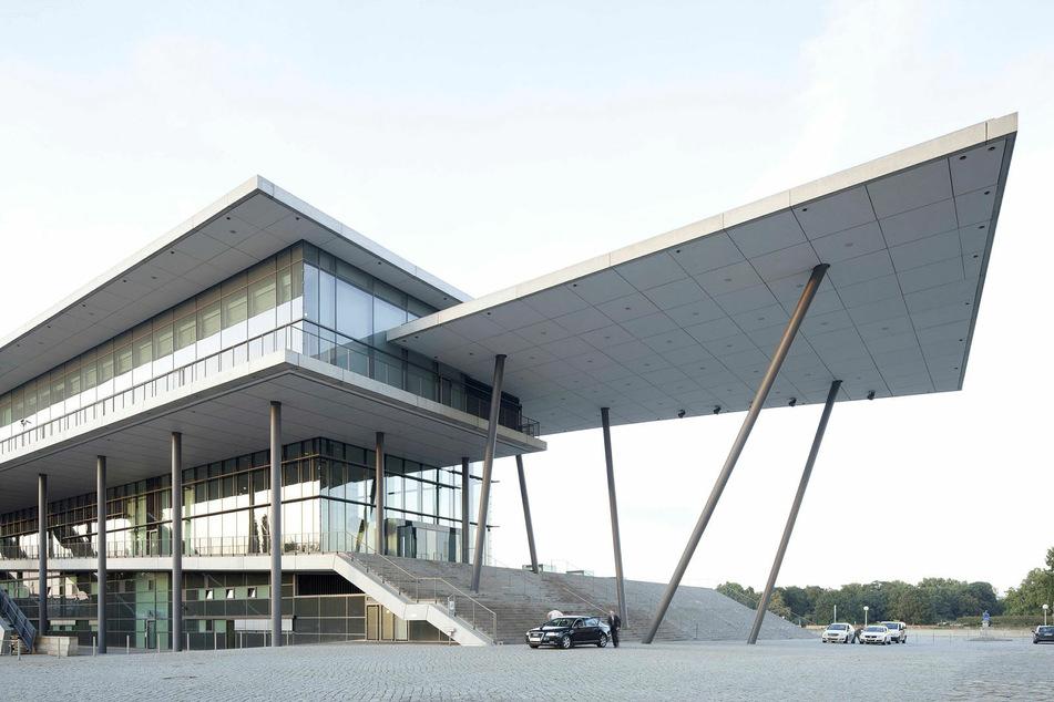 Das Internationale Congress Center Dresden.