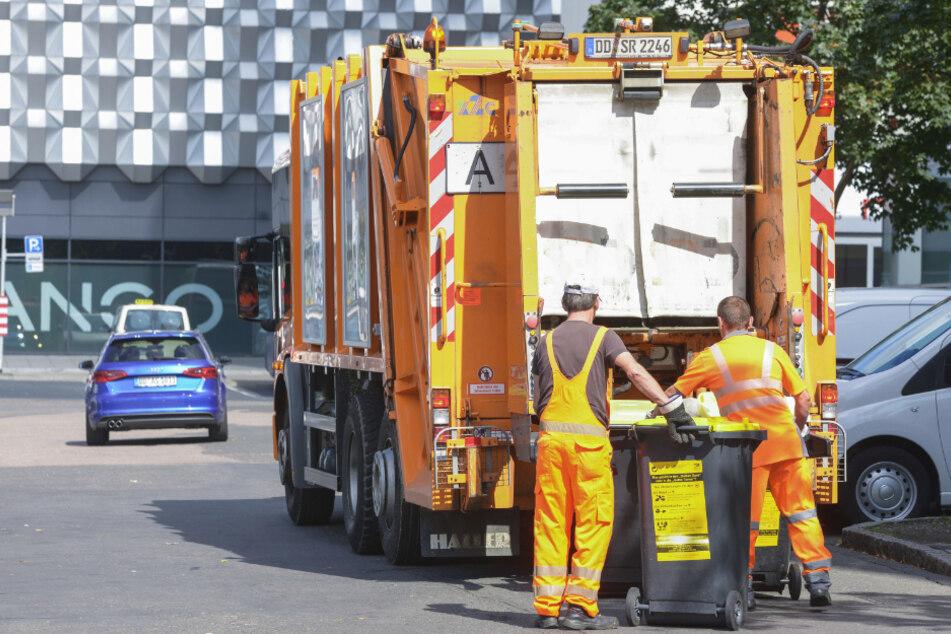Kommunale Rückholaktion: Dresdner Rathaus kauft sich seine Müllmänner zurück
