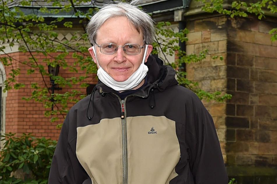 Martin Matzke (58) findet die Idee vom Kirchweg interessant.