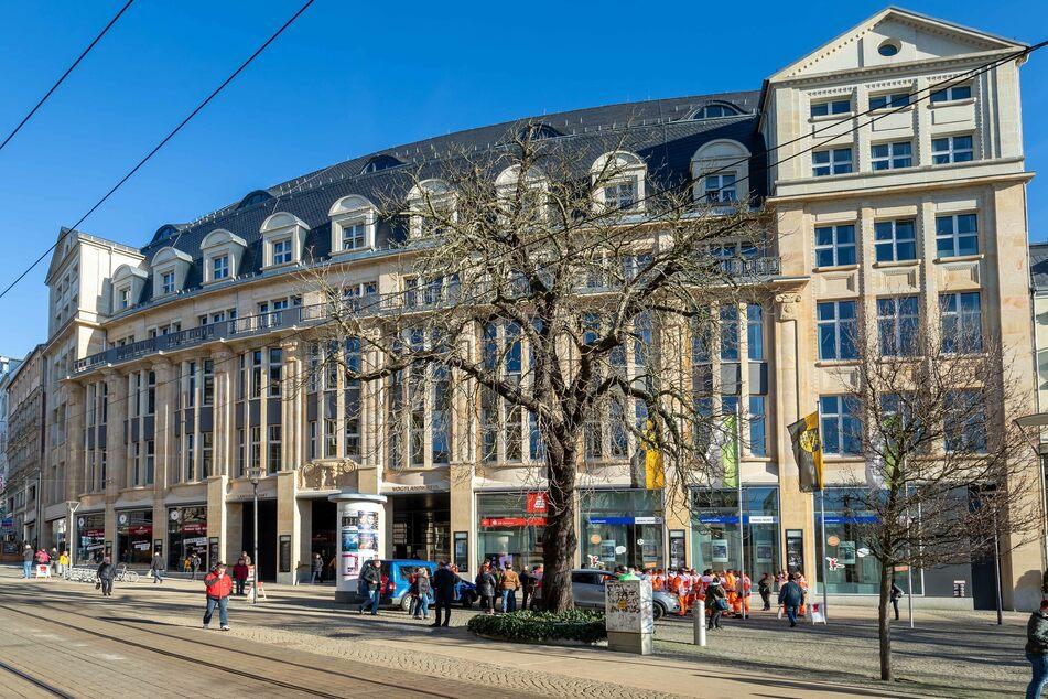 Das Landratsamt in Plauen. (Archivbild)