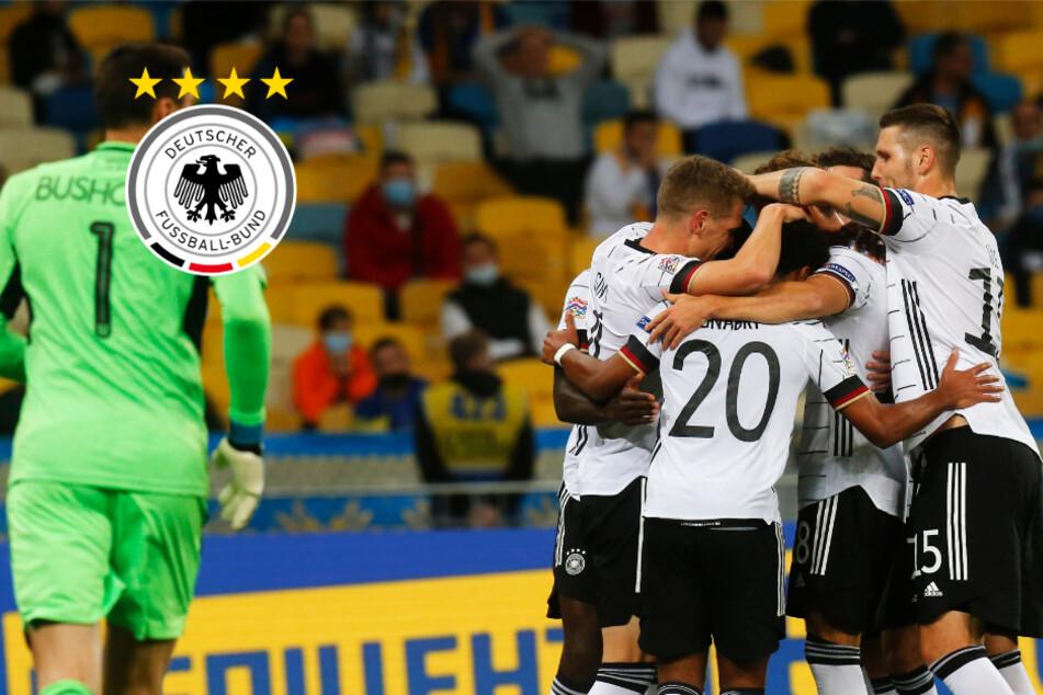 Na endlich! Deutschland holt in der Ukraine ersten Nations-League-Sieg