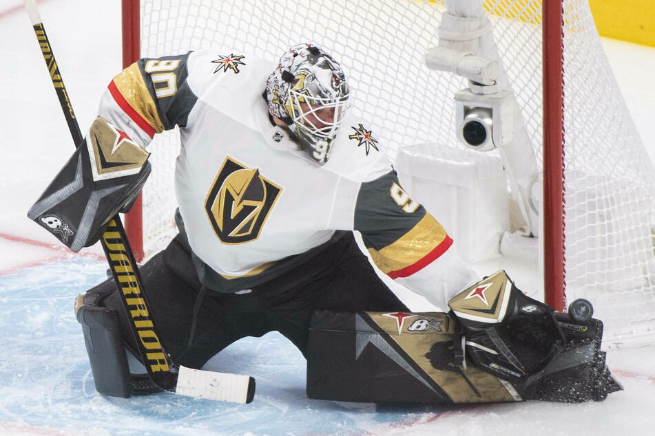 Knights goaltender Robin Lehner stopped 27 shots as Vegas tied their series against Montreal on Sunday night.
