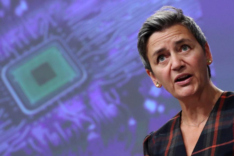 EU-Wettbewerbskommissarin Margrethe Vestager (52).