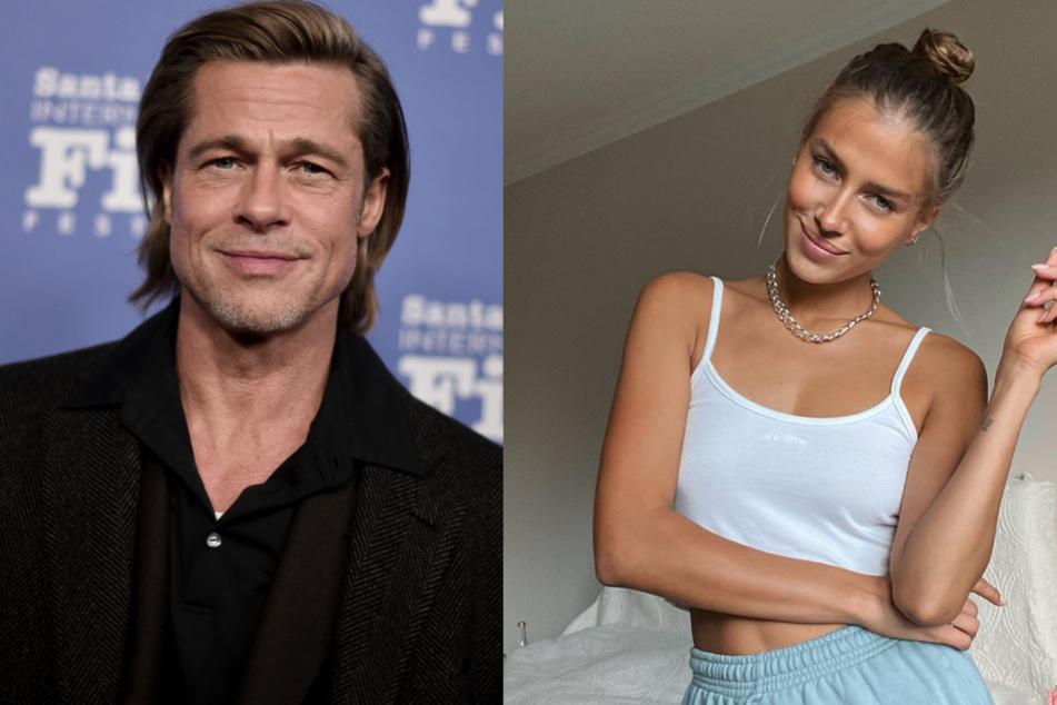 Fuhrt Brad Pitts Neue Freundin Nicole Poturalski Eine Offene Ehe Tag24