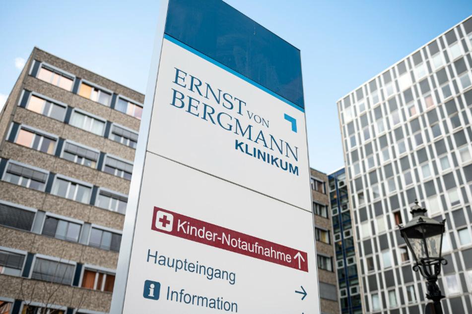 Das Bergmann-Klinikum könnte womöglich bald wieder voll öffnen.