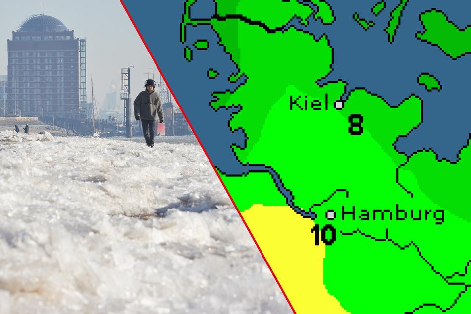 Winter ade? Das Wetter in Hamburg ändert sich jetzt drastisch