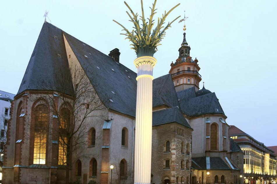 Die Nikolaikirche gehört zu den Orten der Friedlichen Revolution in Leipzig.
