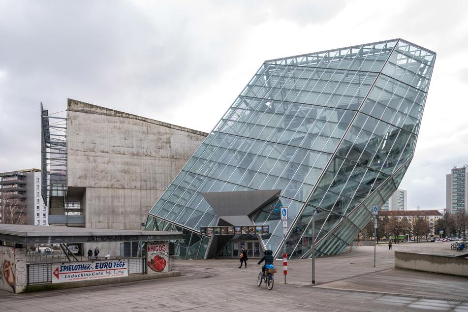 Der Ufa-Kristallpalast in Dresden, im Lockdown verwaist wie alle anderen Kinos auch.