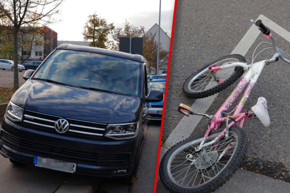 Chemnitz: Mädchen (9) von VW erfasst und schwer verletzt