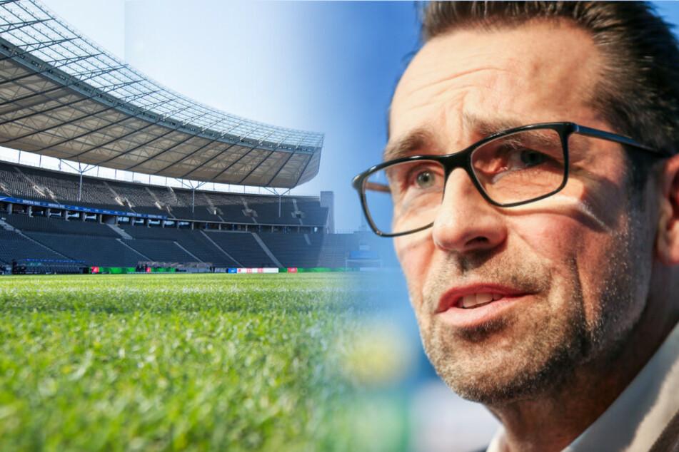 Bei Hertha BSC und Manager Michael Preetz gibt es den ersten positiven Coronavirus-Fall.