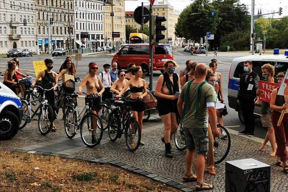 Am gestrigen Samstag wurde in Leipzig für die Gleichberechtigung demonstriert.