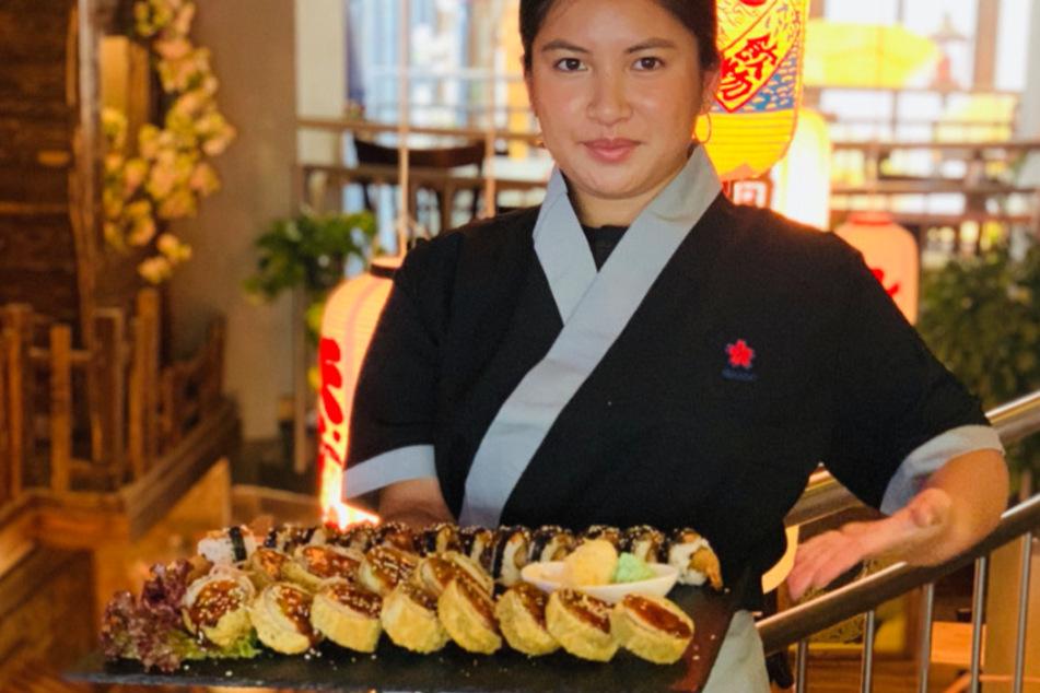 Sie macht das leckerste Sushi in Dresden! Wir verraten Euch wo!