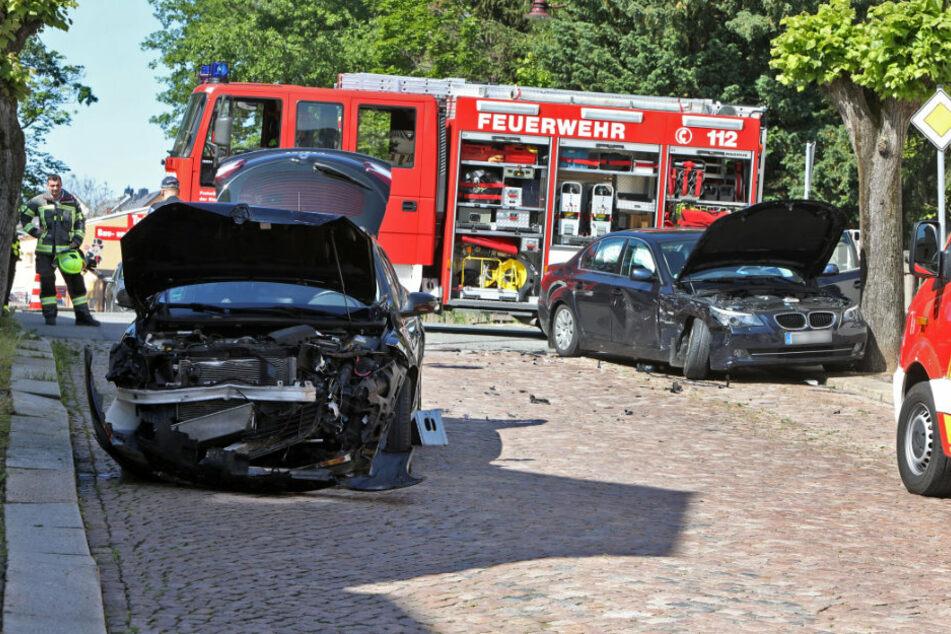 Mehrere Verletzte bei heftigem Kreuzungs-Crash