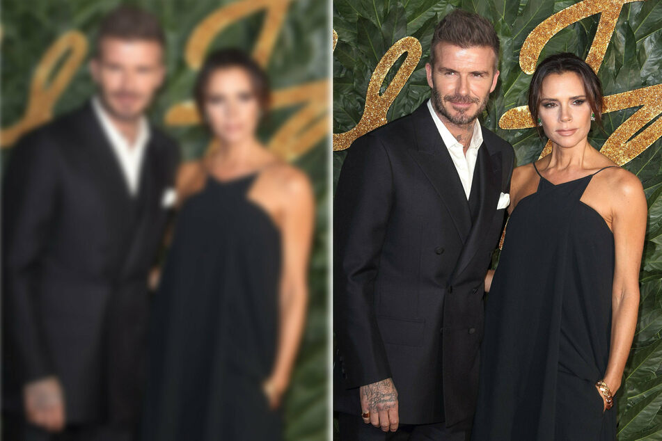 David and Victoria Beckham celebrate 22 years of marriage and quirky matching outfits